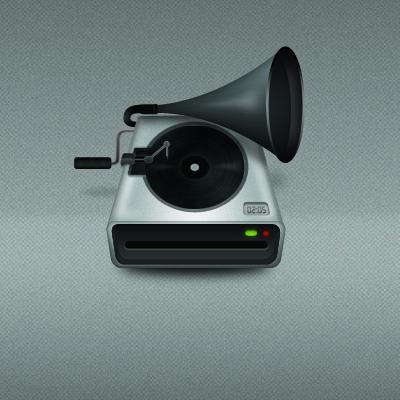 Современный граммофон