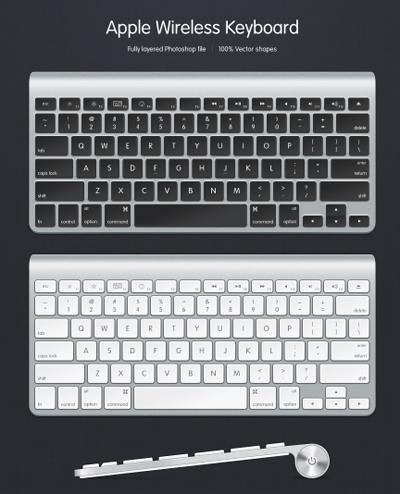 Две клавиатуры Apple