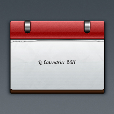 Простой отрывной календарь