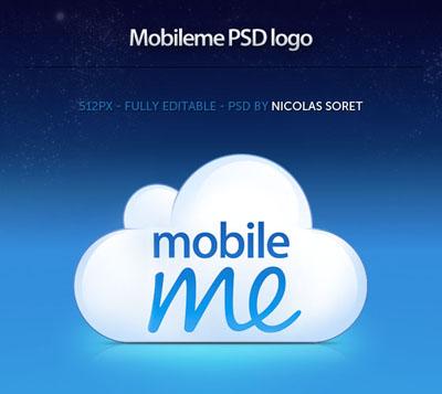 Иконка Mobile me на облаке