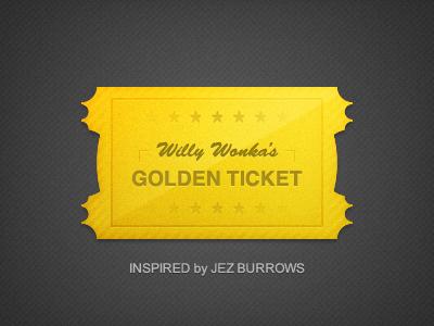 Золотой билет Вилли Вонка