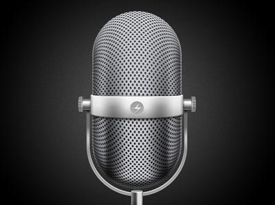 Микрофон в сетку