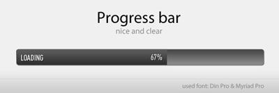 Простой прогресс бар