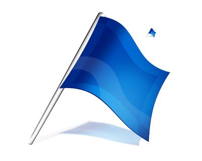 флаг шаблон