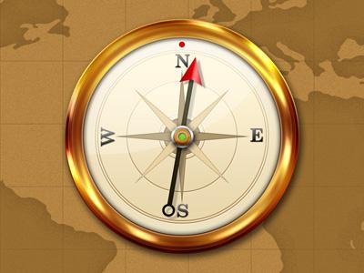 Отличный компас
