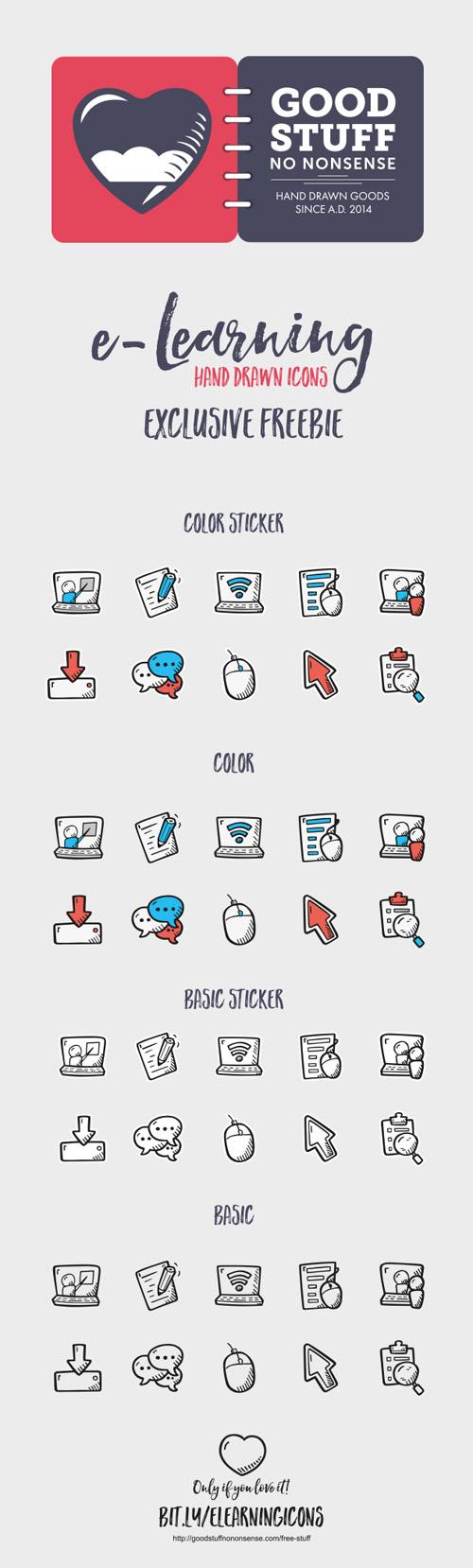 Иконки для интернет-обучения