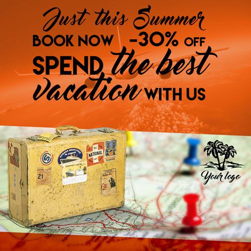 Листовка для агентства путешествий