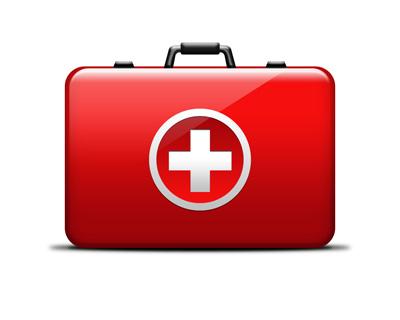 Вариант красного чемодана скорой помощи