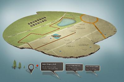 Объемная карта