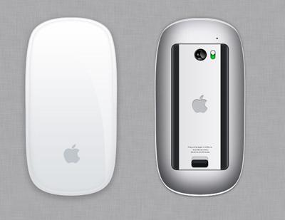 Белая мышь Apple