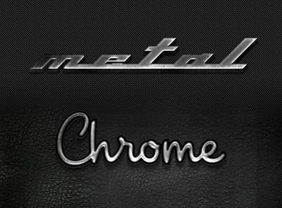 Стиль металл, хром