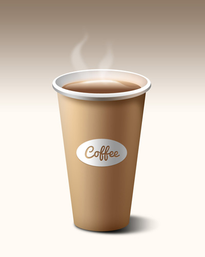 Кофейный стакан