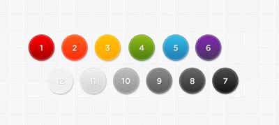 Набор стилей для кнопок и блоков