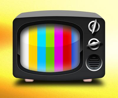 Иконка ретро телевизора
